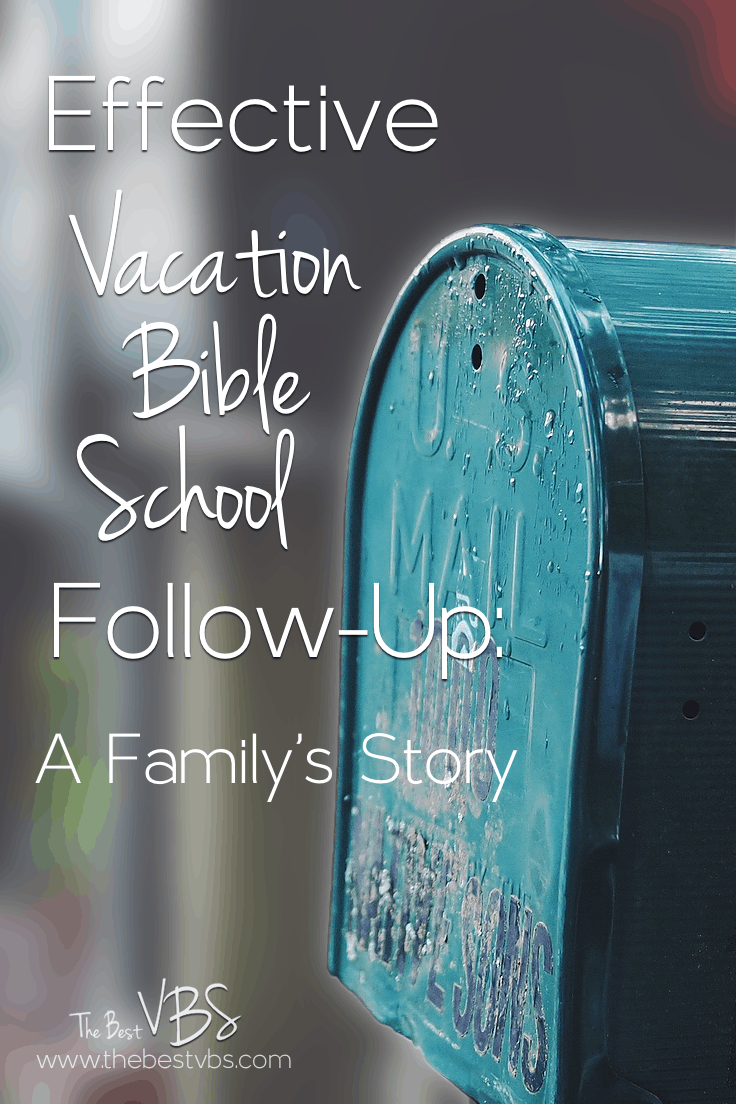 VBS Follow-up is hard.  But it is necessary.  A little postcard made a big impact on one family after vacation Bible School