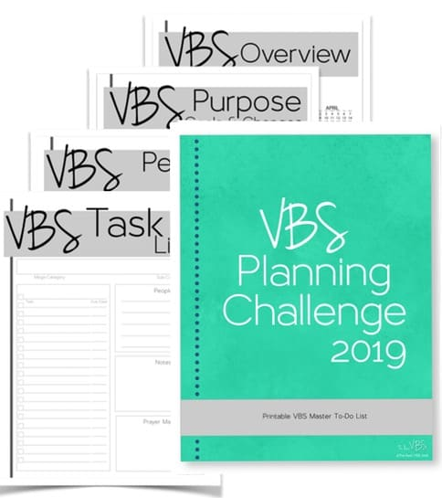 Get the VBS planning printable