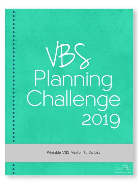 VBS Planning Challenge to-do list