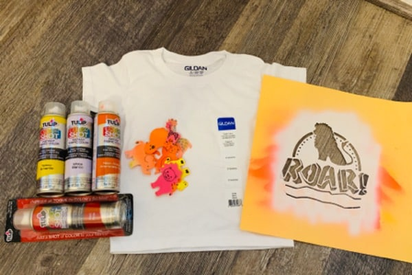 Supplies needed for VBS T-Shirts