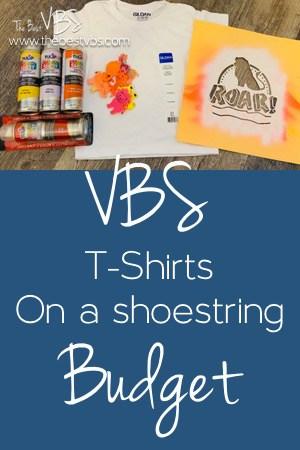 VBS T-Shirts on a shoestring Budget